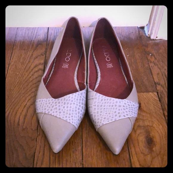 Aldo Shoes - Aldo gray flats